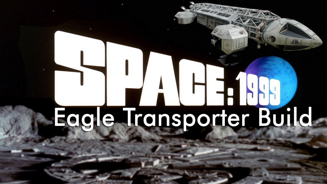Modelmaking Guru, YouTube, Bandai, plastic models, building models, making models, Ammo by Mig, tamiya, gunpla, plamo, video tutorials, painting models, scale models, scale modelling, MPC, MPC 1/48 Eagle Transporter, Space:1999, 22' Eagle Transporter