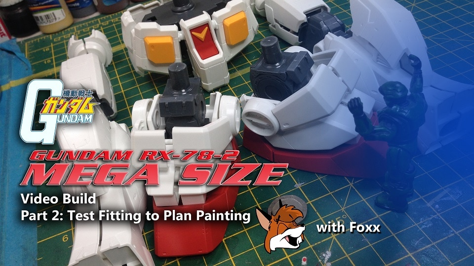 Modelmaking Guru, YouTube, Bandai, plastic models, building models, making models, Ammo by Mig, tamiya, gunpla, plamo, video tutorials, painting models, scale models, scale modelling, Mega Size RX782