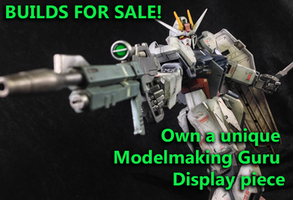 Modelmaking Guru, models for sale, gunpla for sale, buy scale models, buy gunpla, buy assembled models, where to buy built gunpla, where to buy built models