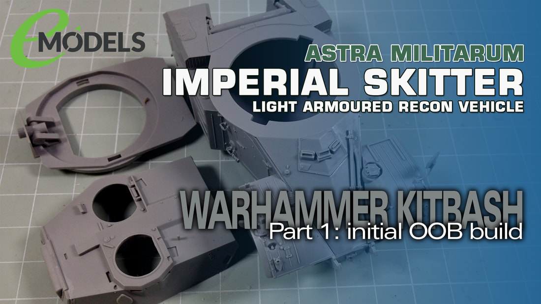 Modelmaking Guru, YouTube, Bandai,plastic models, building models, making models, Ammo by Mig, tamiya, gunpla, plamo, video tutorials, painting models, scale models, scale modelling, Games Workshop, Warhammer 40K, Painting Warhammer, Panhard AML-90, Takom, Imperial Skitter, kitbashing
