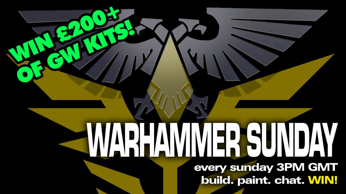 Modelmaking Guru, YouTube, Bandai,plastic models, building models, making models, Ammo by Mig, tamiya, gunpla, plamo, video tutorials, painting models, scale models, scale modelling, Games Workshop, Warhammer 40K, Painting Warhammer, Warhammer Sunday, live stream, Unending Forces of the Holy Contrivance