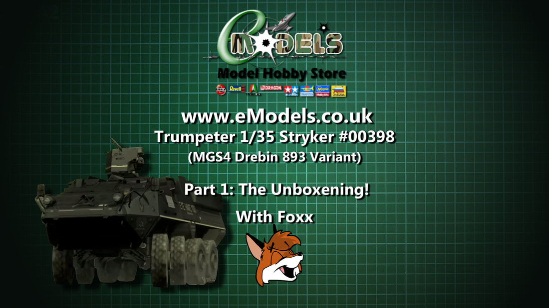 Modelmaking Guru, YouTube, Bandai,plastic models, building models, making models, Ammo by Mig, tamiya, video tutorials, painting models, scale models, scale modelling, Trumpeter, Stryker, Metal Gear Solid 4, Guns of the Patriots, Drebin