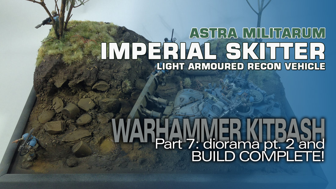 Modelmaking Guru, YouTube, Bandai, plastic models, building models, making models, Ammo by Mig, tamiya, gunpla, plamo, video tutorials, painting models, scale models, scale modelling, Games Workshop, Warhammer 40K, Painting Warhammer, Panhard AML-90, Takom, Imperial Skitter, kitbashing