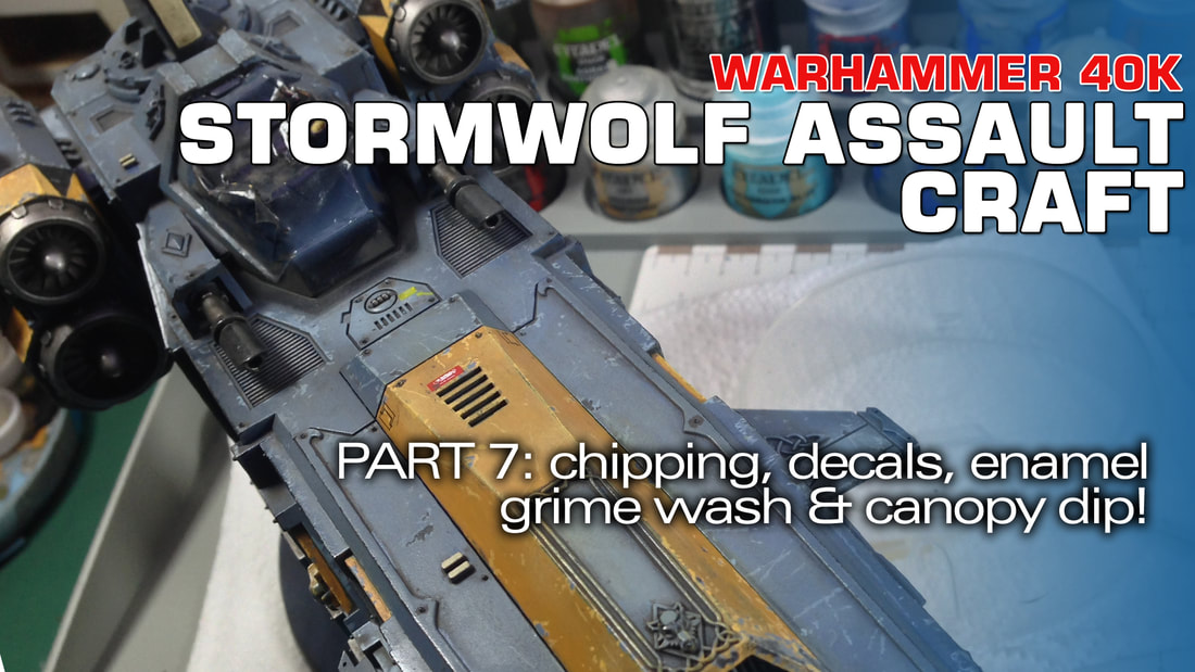 odelmaking Guru, YouTube, Bandai,plastic models, building models, making models, Ammo by Mig, tamiya, gunpla, plamo, video tutorials, painting models, scale models, scale modelling, Games Workshop, Warhammer 40K, Space Wolves, Stormfang, Stormwolf, Painting Warhammer