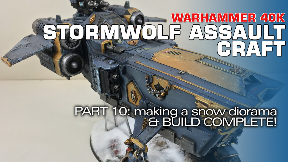 odelmaking Guru, YouTube, Bandai,plastic models, building models, making models, Ammo by Mig, tamiya, gunpla, plamo, video tutorials, painting models, scale models, scale modelling, Games Workshop, Warhammer 40K, Painting Warhammer, Stormwolf, Space Wolves