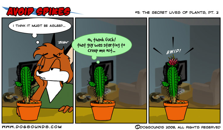 webcomic, furry, anthro, anthropomorphic, Avoid Spikes, slice of life, web comic, Foxx, Mart, furry comic, dogsounds