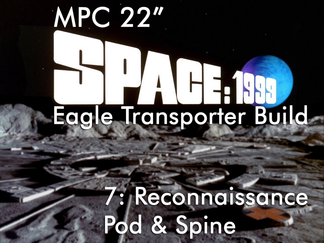MPC, Space: 1999, Space 1999, Eagle Transporter, 22 Inch Eagle Transporter, 1/48 Eagle Transporter, Modelmaking Guru, plastic model, model, scale model, military miniatures, Gunpla, Fine Molds, Gundam, Bandai, Tamiya, Revell, Airfix, Ammo of Mig Jimenez, eModels, painting, weathering, tutorial, making models, painting gunpla, painting models, weathering models, model making